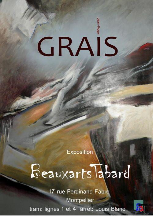 Exposition Peinture - Jean-Roger Grais